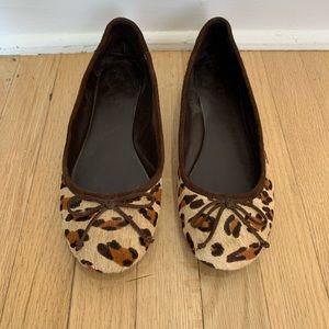 Lauren by Ralph Lauren leopard flats